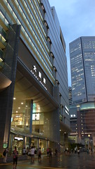 front of Sta.Osaka