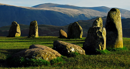 stone circle landscape nationalpark standingstones nikon view tripod lakedistrict cumbria fells vista d200 nationaltrust keswick manfrotto castlerigg northernlakes