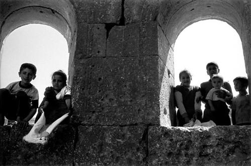 church of saint simeon stylites, syria, summer 1999