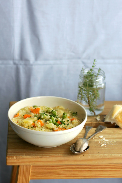 Millet and vegetables soup last