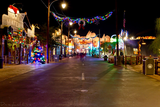 Cars Land Christmas