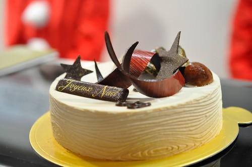 西武池袋本店 クリスマスケーキ Wa・Bi・Sa 和三盆と栗のケーキ