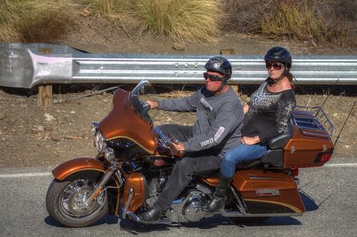 Harley-Davidson on Mulholland