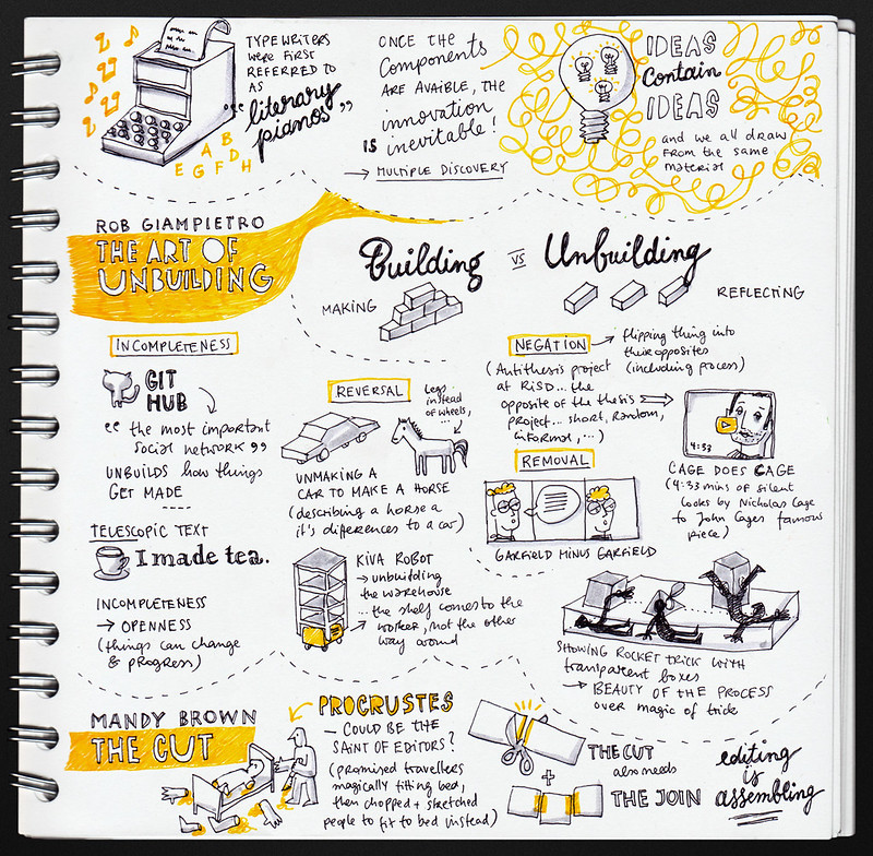 Kirby Ferguson: Everything is a remix (contd) & Rob Giampetro: Building and Unbuilding & Mandy Brown: The Cut @ Build 2012