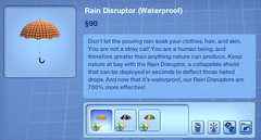 Rain Disruptor (Waterproof)