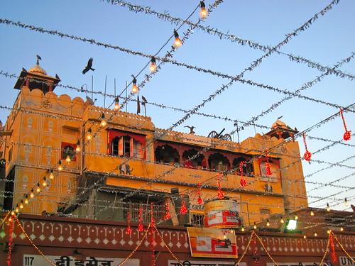 Jaipur Market Street Scenes