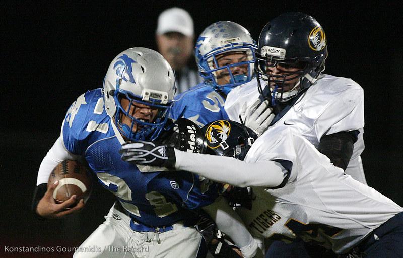 Sierra High School Football (Manteca, CA) vs Inderkum High School (Sacramento) CCS Playoffs