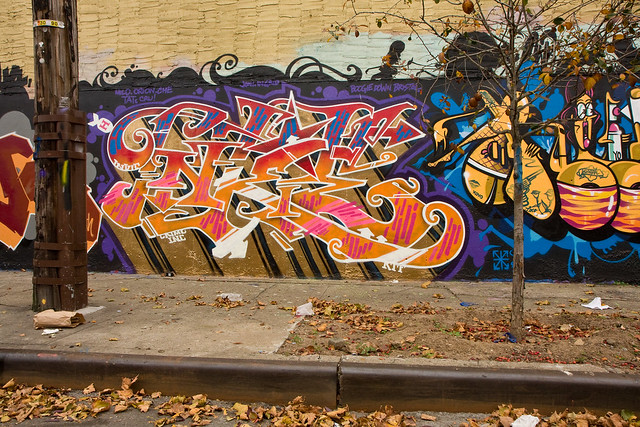 Tats Cru, Halloween wall, Hunts Point