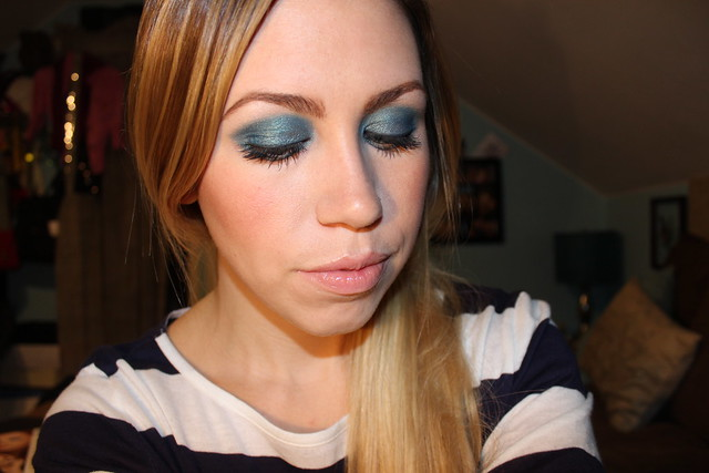 Livingaftermidnite : mark. Makeup Monday : Electric Blue