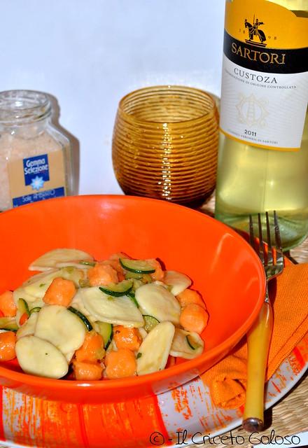 Strascinati con salmone e zucchine 2