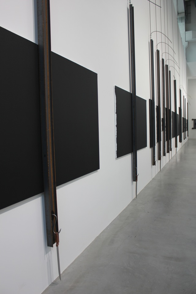 Jannis Kounellis at Blain|Southern Berlin _ photo copyright artfridge