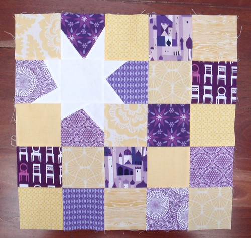 Quilting for Kids Block - Reverse Star, Nov 2012