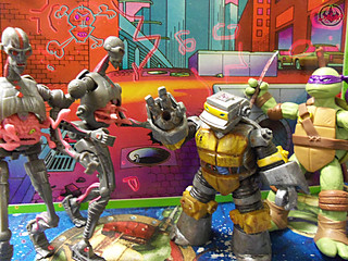 Nickelodeon  TEENAGE MUTANT NINJA TURTLES :: METALHEAD  xxvi / FIREPOWER   (( 2012 ))