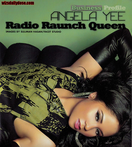 ANGELA YEE BLACKMEN MAGAZINE PHOTO SPREAD. sexy ass angela yee in the latest issue of black men magazine