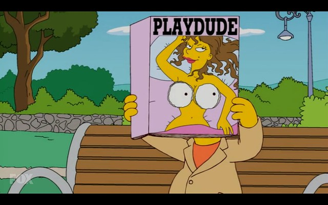Playdude - The Simpsons - Adventures in Baby Getting
