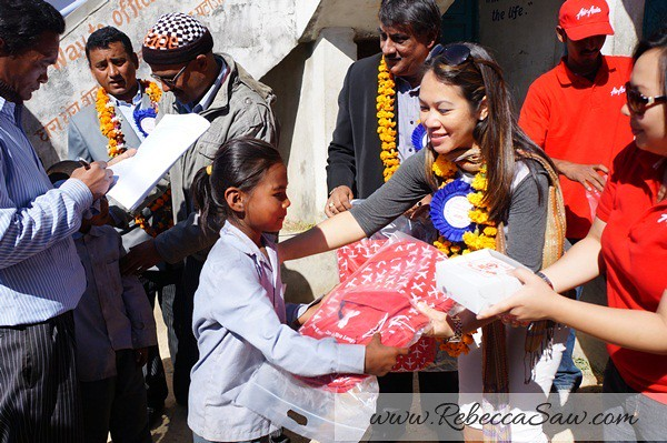 air asia x CSR One laptop one child program - Kathmandu Nepal-017