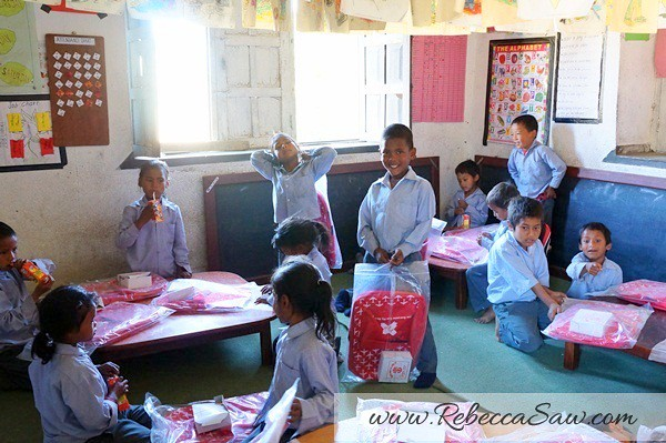 air asia x CSR One laptop one child program - Kathmandu Nepal-020