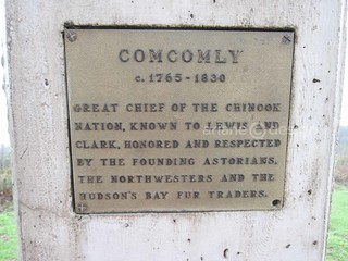 Astoria/Coxcomb Hill plaque