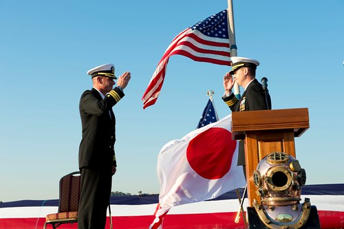 Change of Command on board USS Stethem (ddg63)