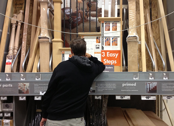 Blaine at Home Depot