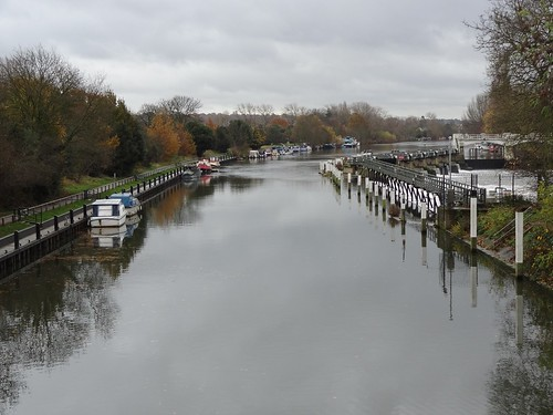 Thames by Teddington Lock