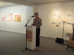 """Inauguración de la exposición """"Las Patronas de Veracruz"""" de Argelia García Chávez"""