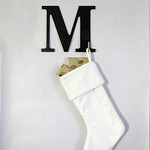 Modern Monogram Stocking Hanger Tutorial