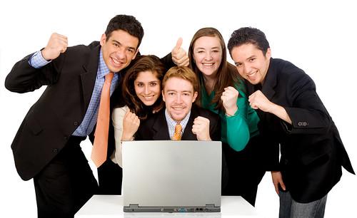 Business success team