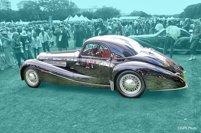 1937 Delage D8 120SS Aerodynamic Coupe at Amelia Island 2010