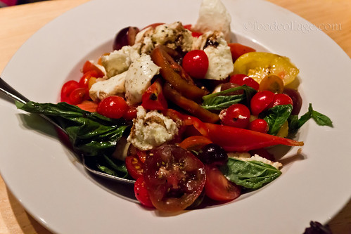 Heirloom Caprese Salad at E2