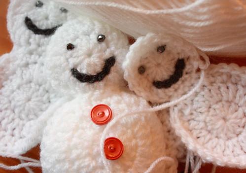 Crochet Snowmen