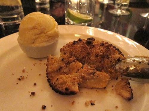 sanctum soho hotel restaurant - dessert