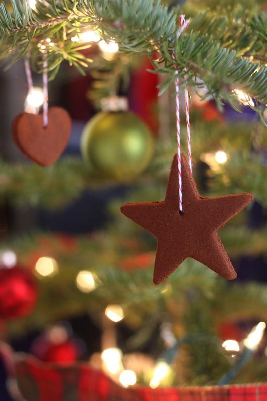 Homemade Christmas Ornaments Dough Cinnamon : Homemade cinnamon ornaments completely delicious