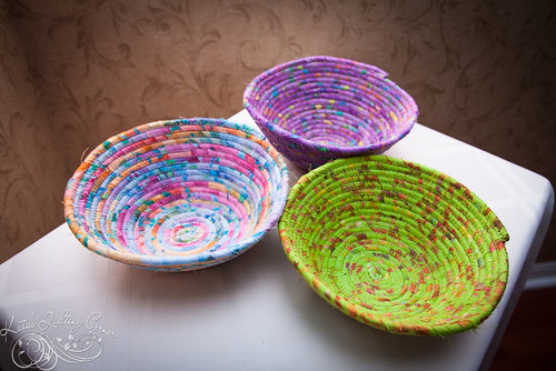 Corded Fabric Bowls Video Tutorial