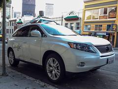 Image of Google's Self-Driving Car
