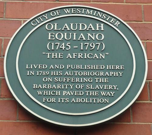 Olaudah Equiana Plaque, London