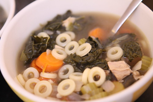 Turkey Soup with Anellini