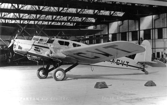 Spartan Cruiser II G-ACVT