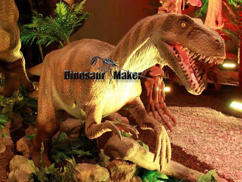 Animatronic VelociRaptor Model made by handwork