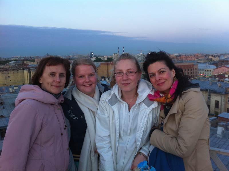 Study Trip to Russia 2012