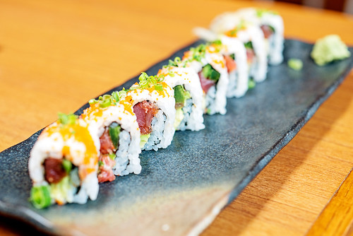 Spicy Tuna Roll - Kata Robata Sushi & Grill