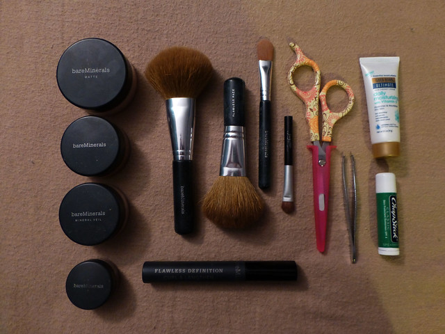 Packing: beauty products
