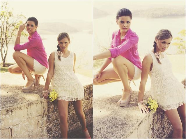 Natália Dal' Evedore & Keylla Oliveira for Majesté