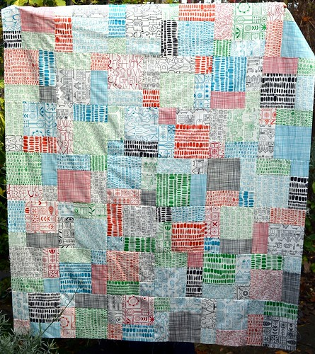 Summersville Baby Quilt Top
