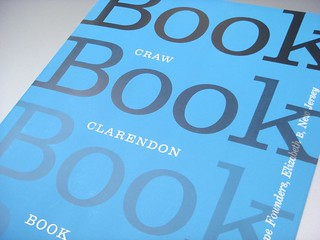 Craw Clarendon Book type specimen brochure