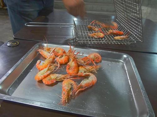 釣蝦:Fishing shrimp