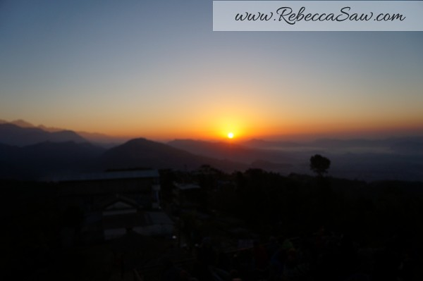 Sarangkot Nepal - sunrise pictures - rebeccasawblog-010