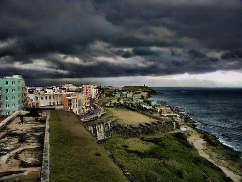 ocean travel sky puertorico scenic olympus pointshoot sanjaun