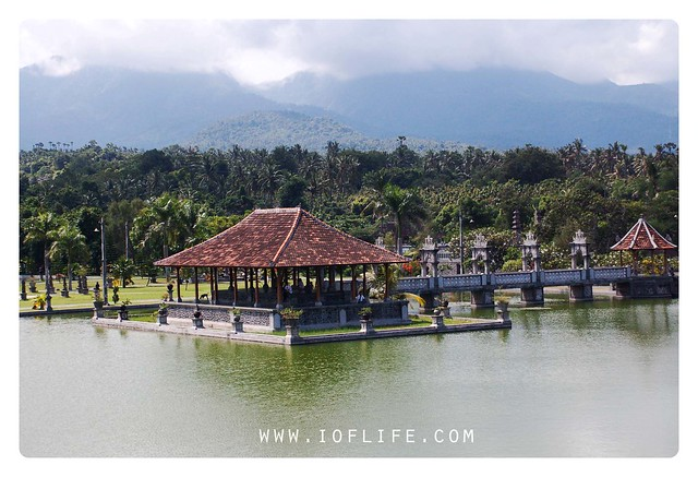 Istana karang asem from top
