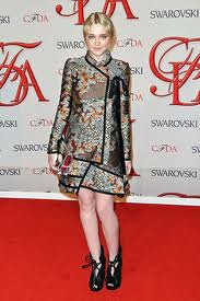 Dakota Fanning Orient Trend Celebrity Style Women's Fashion